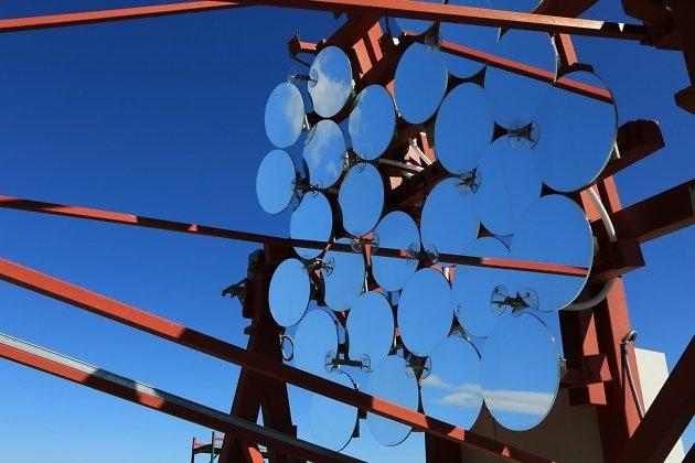 Фрагмент гамма-обсерватории TAIGA в Тункинской долине