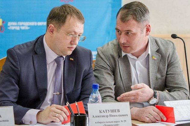 Александр Катушев и Александр Сапожников