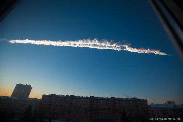 Внебе над Иркутском увидели зеленый метеор