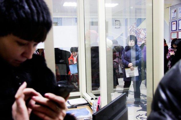Родители дежурят в Чите, чтобы записать детей в первый класс