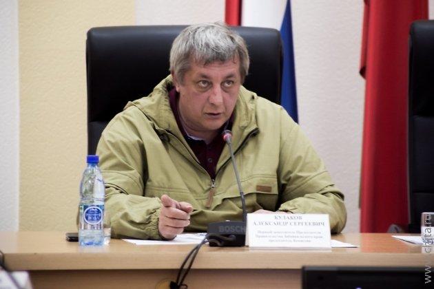 Председатель КЧС Забайкальского края Александр Кулаков
