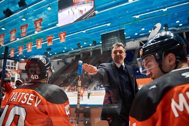 Экс-главный тренер «Ермака» Андрей Кирдяшов