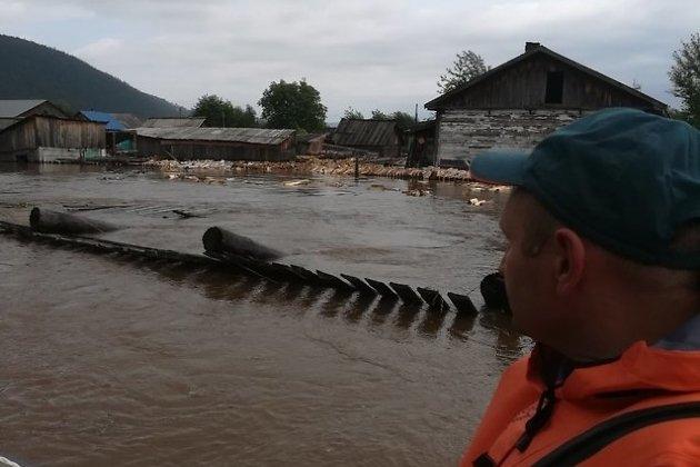 Эвакуация из затопленных районов