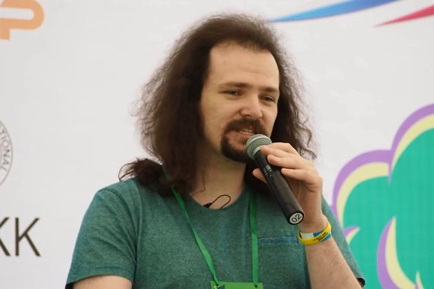 Арсений Дериглазов на форуме GEEK PICNIC 2019