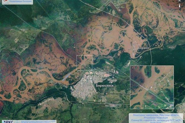 Наводнение в Иркутской области в июне 2019 года