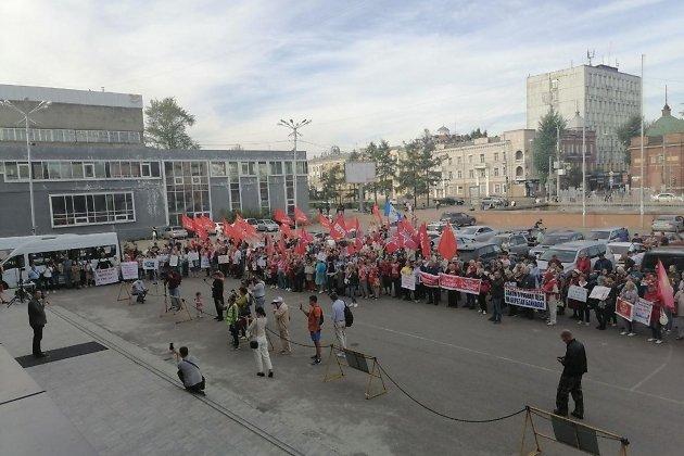Встреча депутатов разных уровней от КПРФ с иркутянами