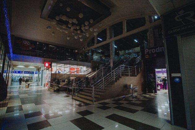 Закрытые магазины в ТЦ в Чите