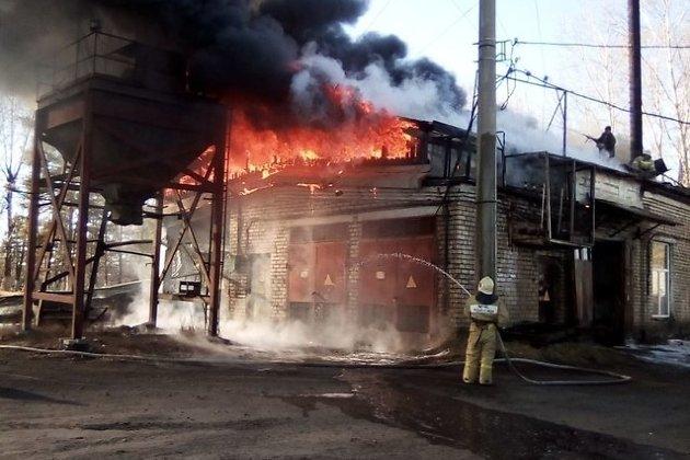Пожар в Кокуе