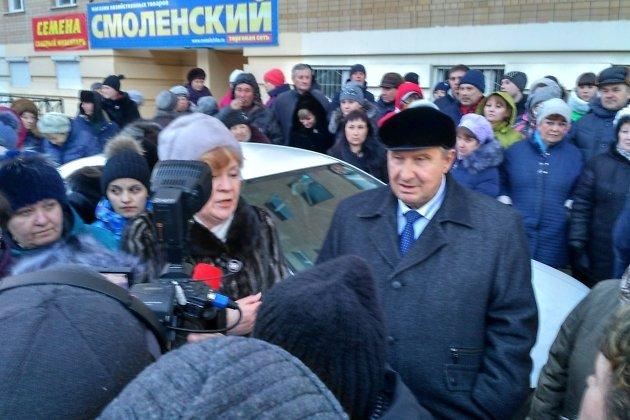 Михалёв на сходе граждан