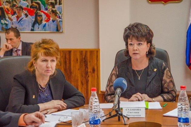 Ирина Пешкова и Светлана Судакова