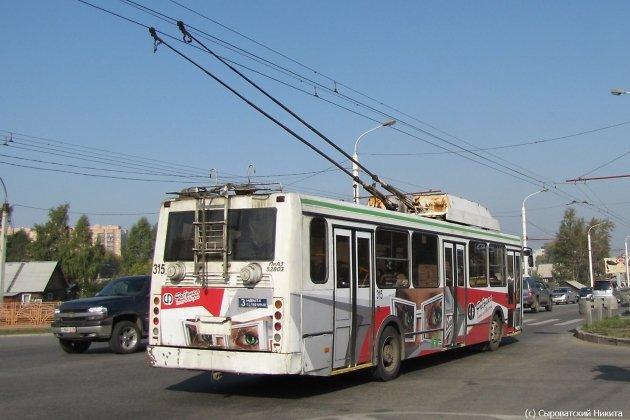 ВИркутске подростки избили водителя троллейбуса инеоплатили проезд