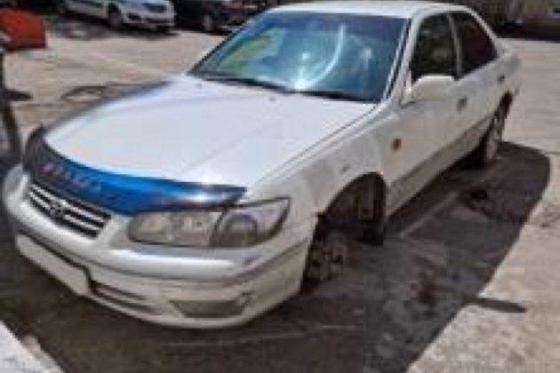Арестованная за 236 штрафов Toyota