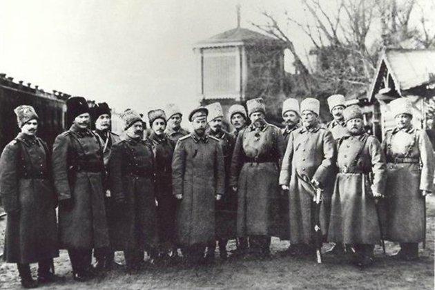 Встреча Николая II с забайкальскими казаками