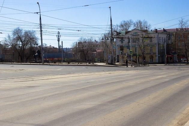 Участок улицы Тимирязева