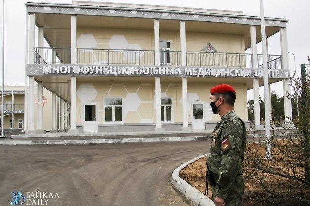 Военный госпиталь для борьбы с коронавирусом в Улан-Удэ