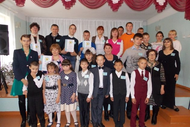 Участники первого межрегионального фестиваля творчества инвалидов