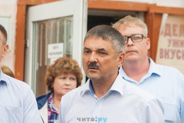 Глава администрации Читы Олег Кузнецов