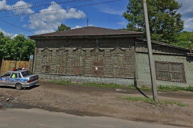 Объект культурного наследия на ул. Баррикад, 27