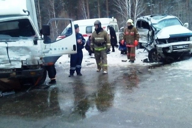 ВДТП под Ангарском пострадали 5 человек, втом числе 3-х летняя девочка