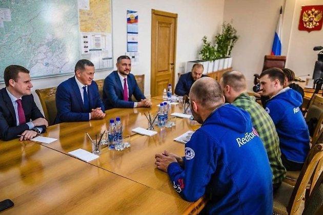 Встреча Трутнева, Чекункова и Осипова с блогерами-путешественниками
