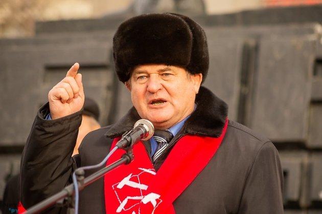 Юрий Гайдук руководитель краевого комитета КПРФ