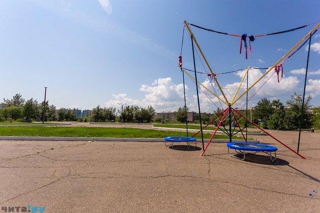 Площадь Труда на КСК до реконструкции