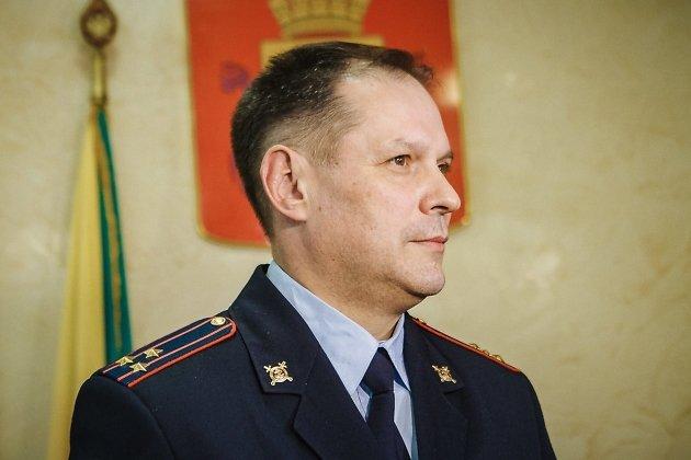 Начальник УМВД России по Забайкальскому краю Александр Щеглов