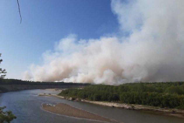 Пожар у Куанды