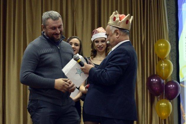 Награждение Александра Буторина