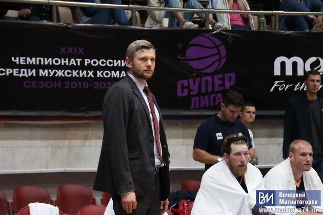 Главный тренер «Иркута» Евгений Горев