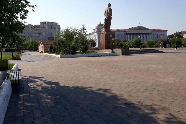 Площадь Ленина 9 июля 2021 года