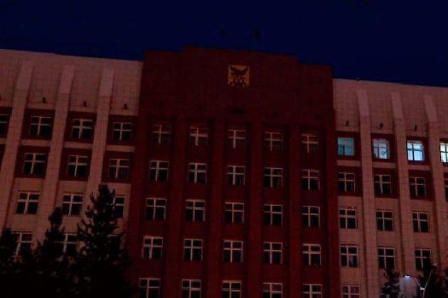 На здании правительства Забайкалья отключена подсветка согласно акции «Час Земли»