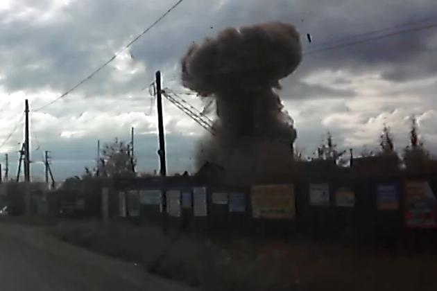 Взрыв на пункте приёма металла в Чите