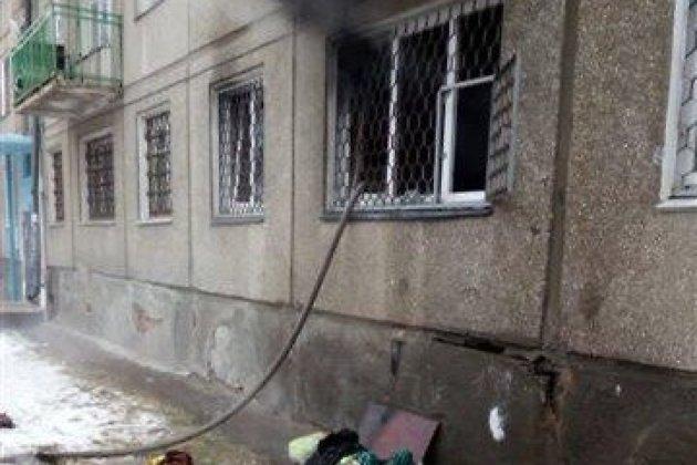Пожилую женщину-инвалида спас сосед напожаре вАнгарске