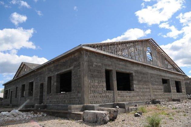 Школа в Сохондо в 2016 году - один из самых главных социальных долгостроев в Забайкалье