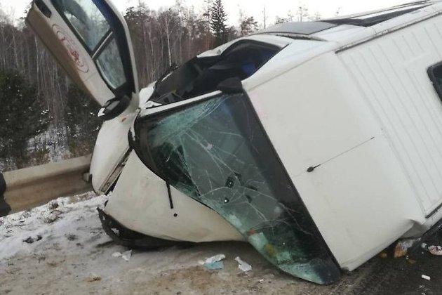 14 человек пострадали вДТП сучастием автобуса под Братском