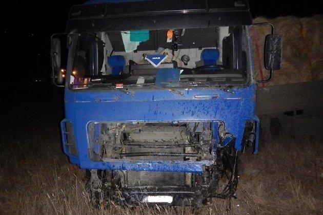 ДТП с грузовиком на трассе Чита - Хабаровск