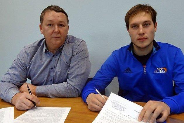 Всостав «Байкал-Энергии» вошел защитник изНовосибирска Никита Юрлов