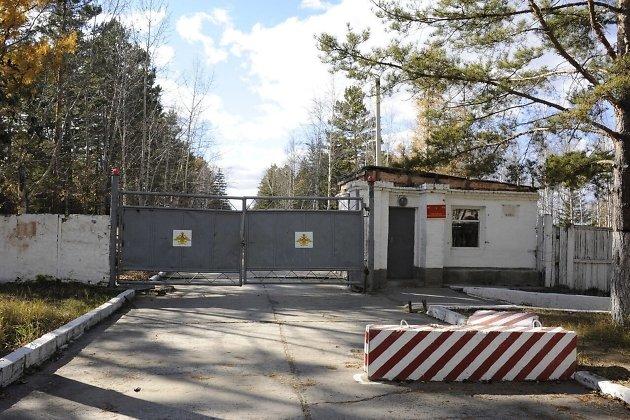 Воинская часть в посёлке Горный