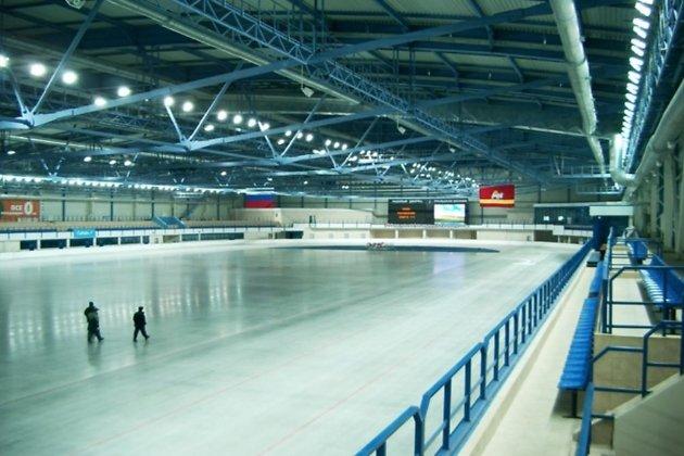 Крытый конькобежный стадион в Челябинске