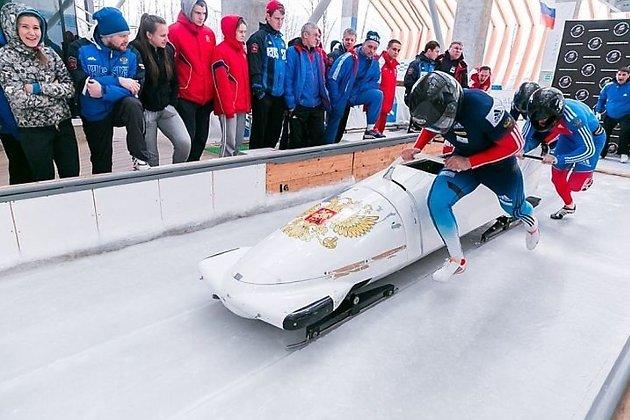 Бобслеистка Кочержова изПриангарья стала 14-й по результатам 2-х заездов наОлимпиаде