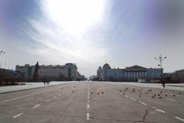 Площадь Ленина в Чите