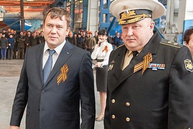 Сергей Алёкминский (справа)