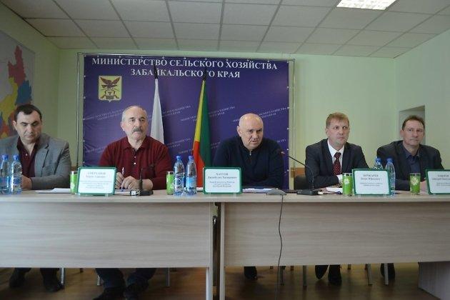 Рабочая встреча минсельхоза края и России