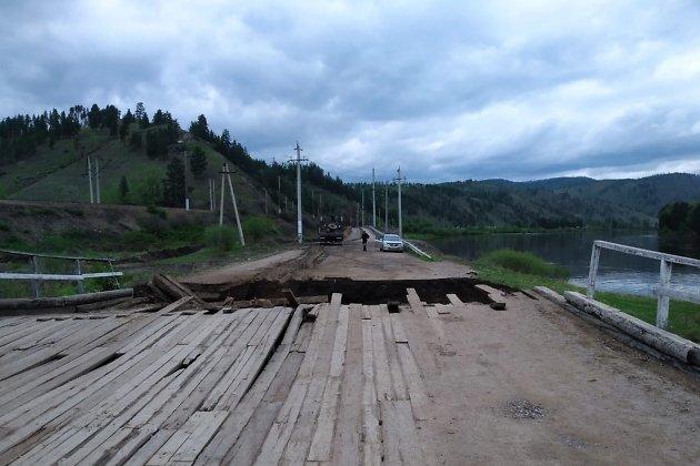 Мост около села Толбага