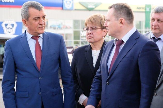 Сергей Меняйло и Наталья Жданова