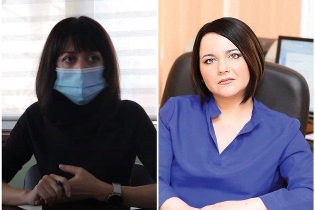 Анна Шагнина и Оксана Немакина