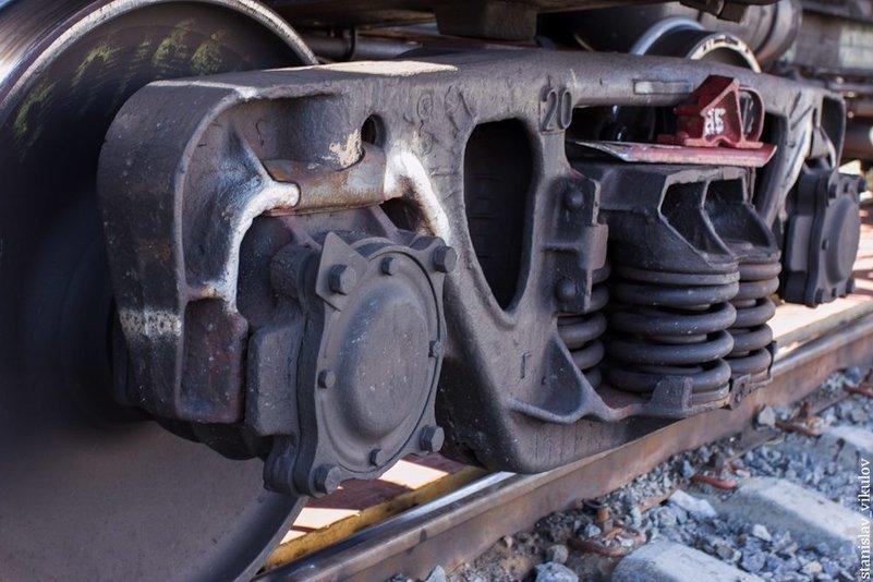 профнастил, металлочерепицу трещины в боковых рамах грузового вагона фото возводилось