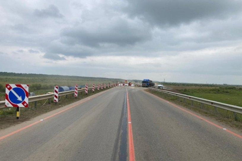 Изменилась схема движения на федеральной трассе Иркутск – Улан-Удэ – Чита