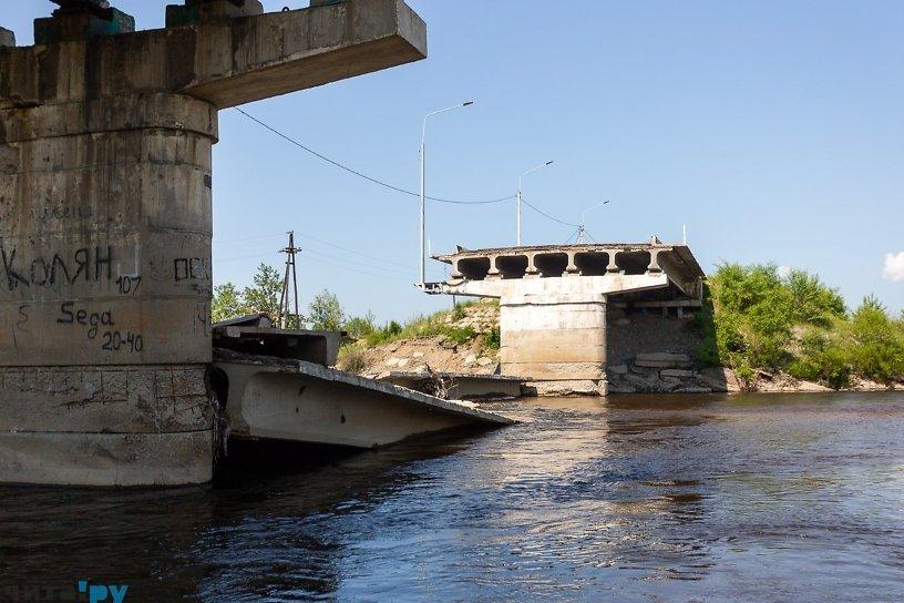 Ливень затопил Балей, в Чите рухнул мост — события 18 июня за 17 лет